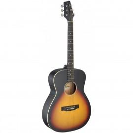 Stagg SA35 A-VS LH, akustická kytara typu Auditorium, levoruká