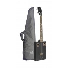 James Neligan CASK-FIRKCOAL, akustická kytara Cigar Box
