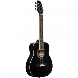 Stagg SA20D 1/2 BK, akustická kytara 1/2 typu Dreadnought