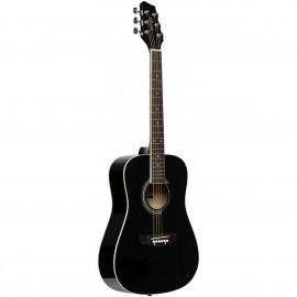 Stagg SA20D 3/4 BK, akustická kytara 3/4 typu Dreadnought