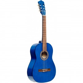 Stagg SCL50 3/4-BLUE, klasická kytara 3/4, modrá