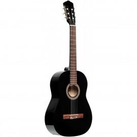 Stagg SCL50-BLK, klasická kytara 4/4, černá