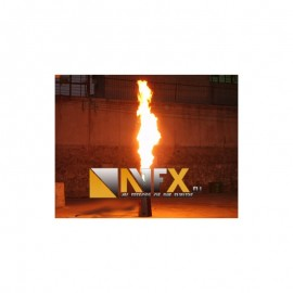 AVFX FLAME PROJEKTOR /FIRE MACHINE/ BEZ DMX