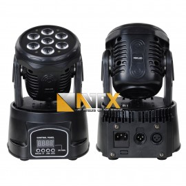 AVFX LED moving head 7x18W RGBW LED-UV, DMX