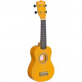 Stagg US LEMON, sopránové ukulele, žluté