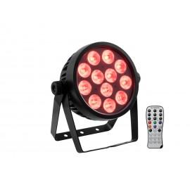 Eurolite LED 4C-12 Silent Slim reflektor, 12x 8W QCL LED, DMX