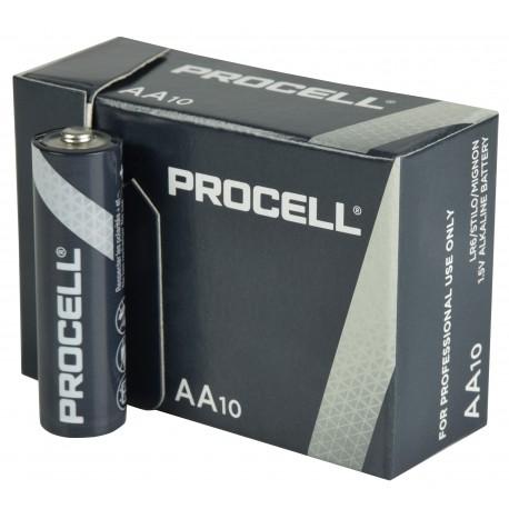 Duracell Procell AA baterie, 1.5V alkalické, 10ks v balení