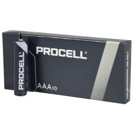 Duracell Procell AAA baterie, 1.5V alkalické, 10ks v balení
