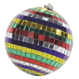 Zrcadlová koule 10cm barevná