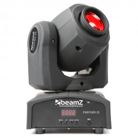 Beamz LED otočná hlavice Panther 25, 1x12W CREE LED, IR, DMX