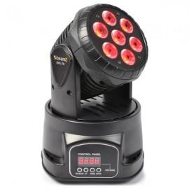 BeamZ LED otočná hlavice 7x10W RGBW LED, DMX
