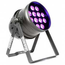 BeamZ LED PAR-64 12x 18W RGBAW-UV, IR, DMX