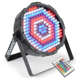 BeamZ LED FlatPAR 186x 10mm RGBW, IR, DMX