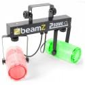 BeamZ LED KLS-2, 2x 57 RGBW LED, čirá, světelná rampa