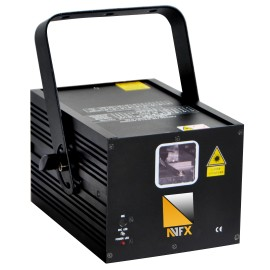 LASER AVFX U650RGB / ANIMACE BEZ IDLA /