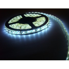LED páska SMD5050, studená bílá, 12V, 1m, IP68, 60 LED/m