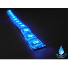 LED páska SMD3528, modrá, 12V, 1m, IP54, 60 LED/m