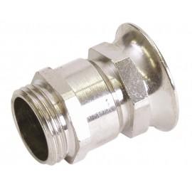 Průchodka PG16 na kabel, kovová objímka