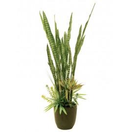 Kaktus mix s květináčem 190 cm