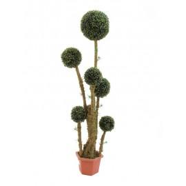 Kulatý strom v květináči 163cm